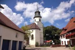 Allmendshofen Kirchplatz