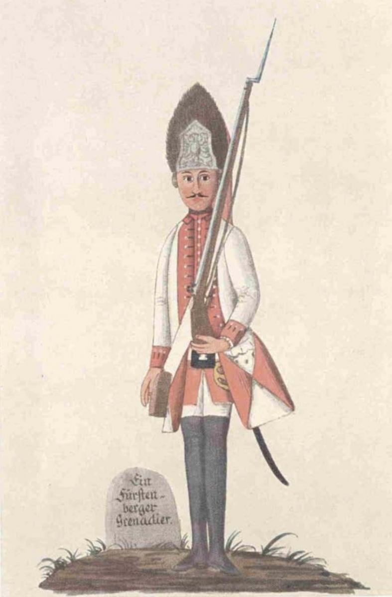 Fürstenberger Grenadier von 1760 (1)