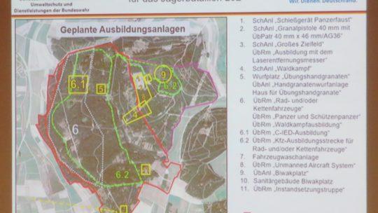 Standortübungsplatz Donaueschingen, Brigachtal und Tannheim