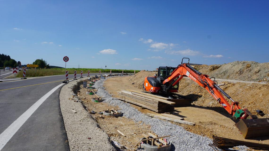 Update zur Lärmschutzwand für das Neubaugebiet Auf Hohen II in Hüfingen