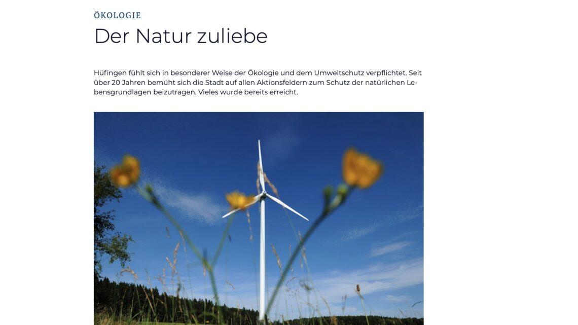 Förderung alternativer Energien