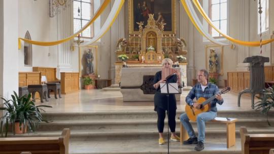 Konzert mit Panflöte in St. Verena und Gallus