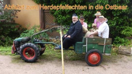 "De Bruder Sebaldus auf ""Tour de Herdepfel"""